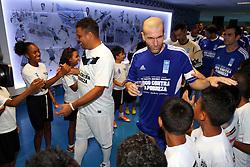"""10ª edição do Jogo Contra a Pobreza - Match Against Poverty que acontece na """"Arena do Grêmio"""" em Porto Alegre. Na foto o jogador Zidane. FOTO: Marcos Nagelstein/Preview.com/PNUD"""