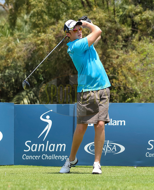 Morne Liebenberg during round one of the Sanlam Cancer Challenge Finals 2012 held at The Lost City Golf Course at Sun City on the 22nd October 2012...Photo by Dominic Barnardt/SPORTZPICS