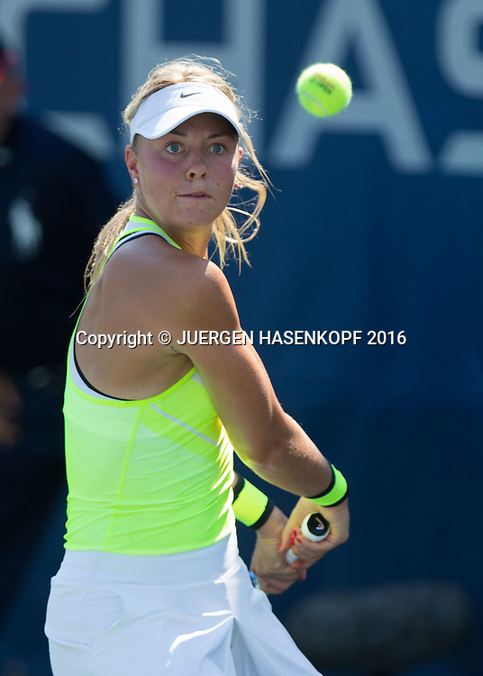 CARINA WITTHOEFT (GER) (GER)<br /> <br /> Tennis - US Open 2016 - Grand Slam ITF / ATP / WTA -  Flushing Meadows - New York - New York - USA  - 29 August 2016.