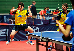 GUSTAFSSON Daniel Sune Stefan and ANDERSSON Emil (SWE) during Team events at Day 4 of 16th Slovenia Open - Thermana Lasko 2019 Table Tennis for the Disabled, on May 11, 2019, in Dvorana Tri Lilije, Lasko, Slovenia. Photo by Vid Ponikvar / Sportida