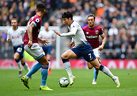 Football - 2018 / 2019 Premier League - Tottenham Hotspur vs. West Ham United<br /> <br /> Tottenham Hotspur's Son Heung-Min in action during this afternoon's game, at The Tottenham Hotspur Stadium.<br /> <br /> COLORSPORT/ASHLEY WESTERN