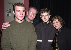 Left to right, MR LUKE REDGRAVE, MR CORIN REDGRAVE, MR ARDEN REDGRAVE and MRS CORIN REDGRAVE members of the Redgrave theatrical family, at a party in London on 3rd April 2000.OCO 52