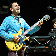 COLUMBIA, MD - April 28th, 2012 -   James Mercer (left) of The Sins performs at the 2012 Sweetlife Food and Music Festival at Merriweather Post Pavilion in Columbia, MD.  The band is currently touring behind their latest album, Port of Morrow. (Photo by Kyle Gustafson/For The Washington Post)