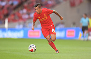 Philippe Coutinho of Liverpool during the International Champions Cup match against FC Barcelona at Wembley Stadium, London<br />Picture by Andrew Timms/Focus Images Ltd +44 7917 236526<br />06/08/2016
