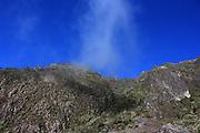 El Volcán Barú (a veces llamado Volcán de Chiriquí) es la elevación más alta de Panamá, y el volcán más alto del sur de América Central, con una altura de 3.475 msnm.<br /> Es un volcán dormido localizado al sur de la división continental al oeste de la provincia de Chiriquí y está rodeado por un área fértil de tierras altas y ayudados por los ríos Chiriquí y Caldera. Las ciudades de Volcán y Cerro Punta se encuenta en el lado oeste, mientras que Boquete está al lado este.<br /> La erupción más importante del volcán ocurrió alrededor del año 500. Existen reportes y evidencias de una erupción menor alrededor del año 1550.<br /> Debido a lo angosto del istmo de Panamá, es posible ver el Océano Pacífico y el Mar Caribe desde la cima del volcán en un día claro. Se ha reportado en la cima una caída ocasional de nieve, donde la temperatura mínima es inferior a 0 ºC, La formación de escarcha es frecuente