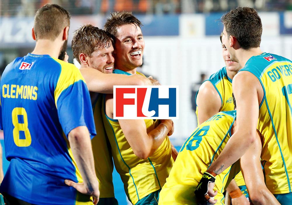 Odisha Men's Hockey World League Final Bhubaneswar 2017<br /> Match id:22<br /> Argentina v Australia<br /> Foto: Australia wins the Odisha Men's Hockey World League Final <br /> WORLDSPORTPICS COPYRIGHT KOEN SUYK