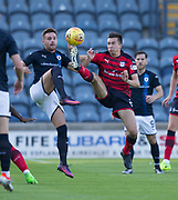 Dundee&rsquo;s Cammy Kerr and Raith&rsquo;s Lewis Vaughan - Raith Rovers v Dundee, Betfred Cup at Starks Park, Kirkcaldy, Photo: David Young<br /> <br />  - &copy; David Young - www.davidyoungphoto.co.uk - email: davidyoungphoto@gmail.com