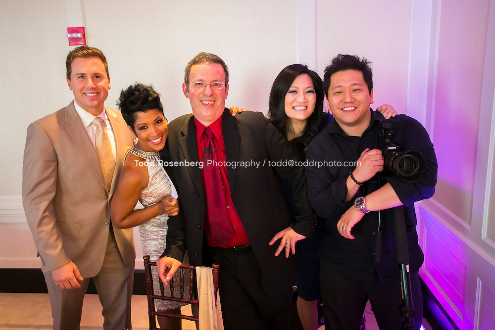 5/21/13 2:14:48 PM .The wedding of April and Sakou on Windy City Live... . © Todd Rosenberg Photography 2013
