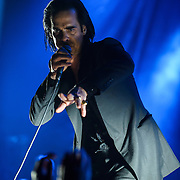 WASHINGTON, DC - July 23, 2014 - Nick Cave and the Bad Seeds perform at DAR Constitution Hall. (Photo by Kyle Gustafson / www.kylegustafson.com)