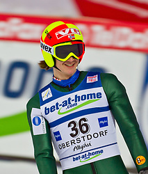 05.02.2011, Heini Klopfer Skiflugschanze, Oberstdorf, GER, FIS World Cup, Ski Jumping, Finale, im Bild Tom Hilde (NOR) , during ski jump at the ski jumping world cup in Oberstdorf, Germany on 05/02/2011, EXPA Pictures © 2011, PhotoCredit: EXPA/ P. Rinderer