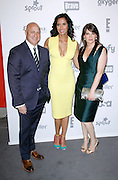 Padma Lakshmi and cast attend the 2015 NBCUniversal Cable Entertainment Upfront at the Javitz Center North Hall in New York City, New York on May 14, 2015.