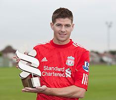 101014 Gerrard Player of the Month