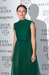 Kiera Knightley bei den Harper's Bazaar Women of the Year Awards 2016 in London / 311016<br /> <br /> *** Harper's Bazaar Women of the Year Awards 2016 in London on October 31, 2016 ***