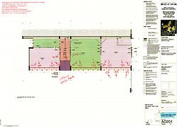 Berkshire Community College Hawthorne Hall Demolition. Pre-Demolition Key Plan for a set of 227 photos. One of Seven Plans completes the set.