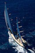 Sojana racing in the St. Barth Bucket regatta.