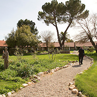 The Mission San Miguel in Central California is still an active mission.