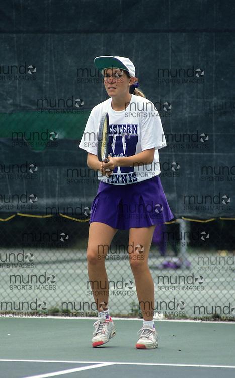 (London, Ontario---22 September 1992) UWO Women's Tennis Copyright Sean Burges / Mundo Sport Images, 1992