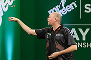 Raymond van Barneveld during the PDC Darts Players Championship at  at Butlins Minehead, Minehead, United Kingdom on 24 November 2017. Photo by Shane Healey.