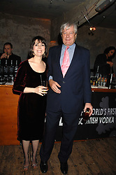 ARCHIE & SHARON STIRLING at a reception to Discover Wilton's Music Hall held at the hall in Graces Alley, London E1 on 5th December 2007.<br />