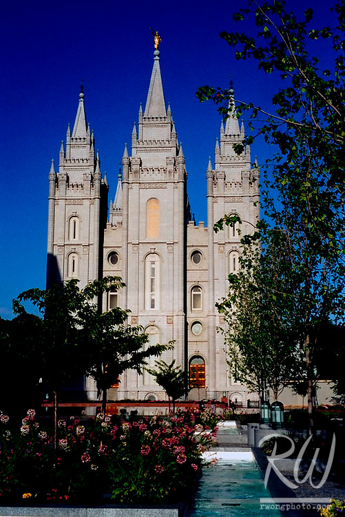 The Mormon Temple, Salt Lake City, Utah