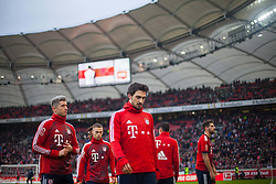 December 16, 2017 - Stuttgart, Germany - Bayerns Mats Hummels and Robert Lewandowski during the warm-up before  the German first division Bundesliga football match between VfB Stuttgart and Bayern Munich on December 16, 2017 in Stuttgart, Germany. (Credit Image: © Bartek Langer/NurPhoto via ZUMA Press)