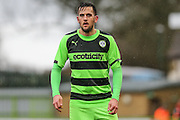 Forest Green's Darren Carter during the Vanarama National League match between Forest Green Rovers and Eastleigh at the New Lawn, Forest Green, United Kingdom on 20 February 2016. Photo by Shane Healey.