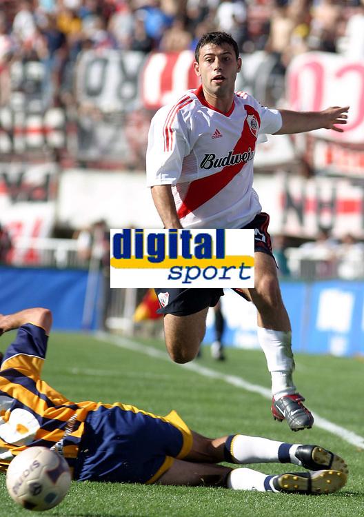 Fotball<br />Argentina<br />29/10/03 RIVER PLATE (2 ) Vs. ROSARIO CENTRAL (1 ). Football - Bs. As. - Argentina. Twelfth match of the Torneo Apertura 2003<br />JAVIER MASCHERANO (River)<br />Foto: Digitalsport
