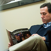 Jan. 7th, 2012 - Manchester, NH - Presidential hopeful Rick Santorum.