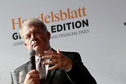 UK ENGLAND LONDON 21JUN16 - Mark Boleat, Chairman of the City of London Corporation speaks during a podium discussion hosted by the Handelsblatt editorial office in Hoxton, London.<br /> <br /> jre/Photo by Jiri Rezac<br /> <br /> © Jiri Rezac 2016