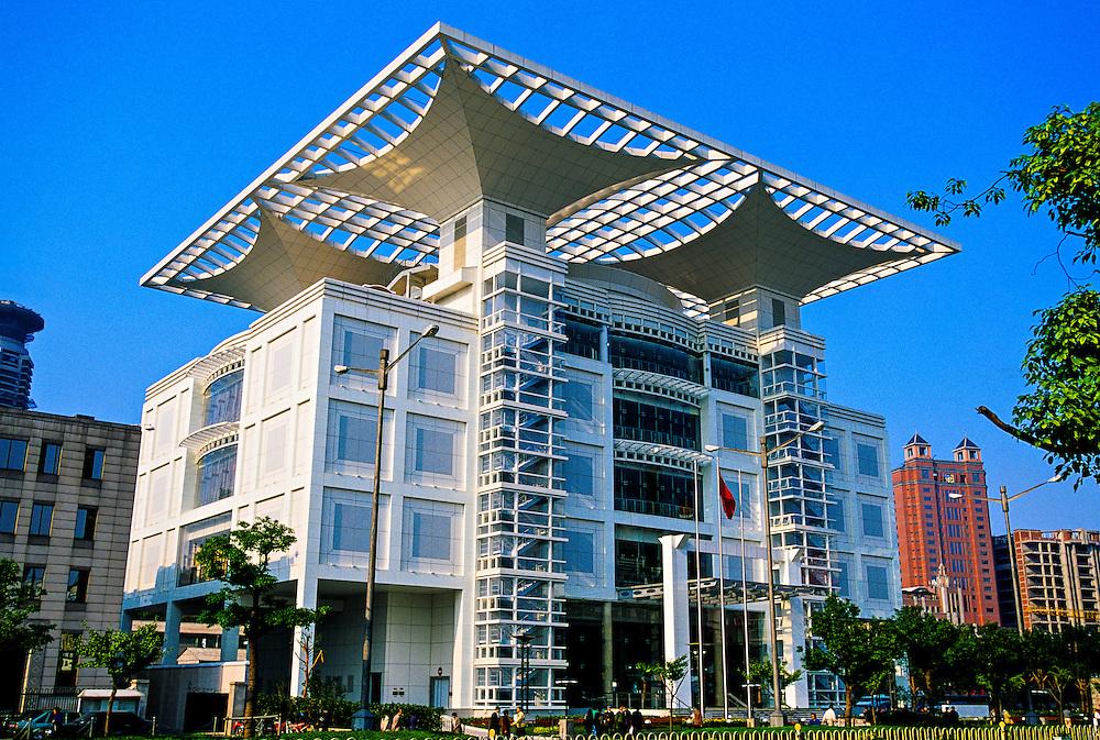 Shanghai Urban Planning Exhibition Hall, People's Square, Shanghai, China