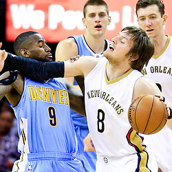 03-31-2016 Denver Nuggets at New Orleans Pelicans