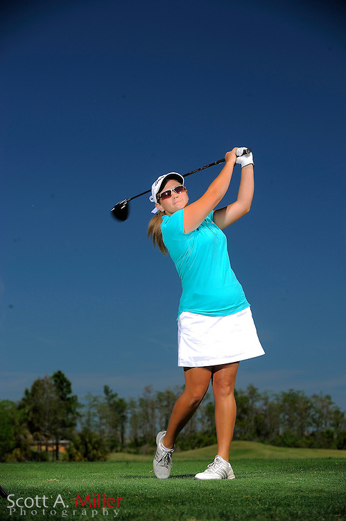March 31, 2009, Daytona Beach, Fla: Whitney Wade of the Duramed Futures Tour Performance Team during a portrait session at LPGA International...© 2009 Scott A. Miller