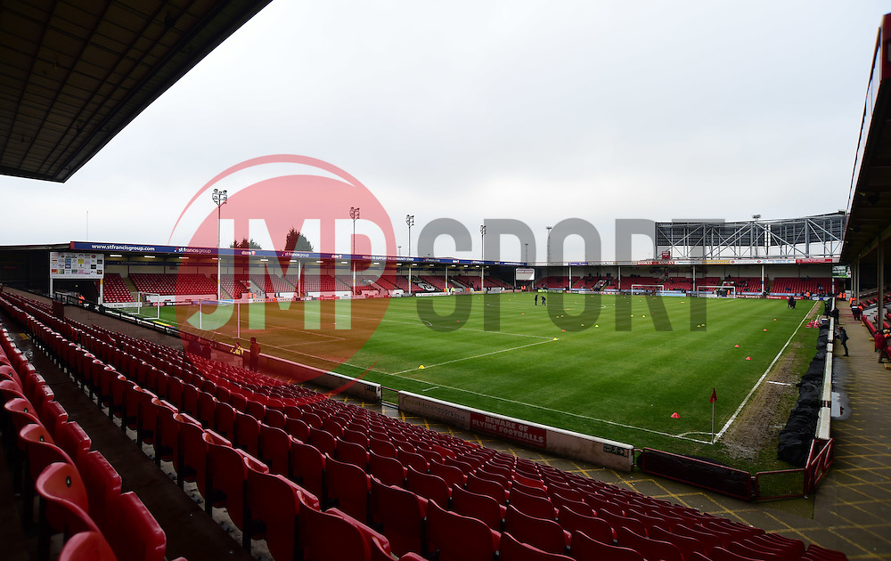 General view inside the Bank's Stadium. - Mandatory by-line: Alex James/JMP - 21/01/2017 - FOOTBALL - Banks's Stadium - Walsall, England - Walsall v Bristol Rovers - Sky Bet League One