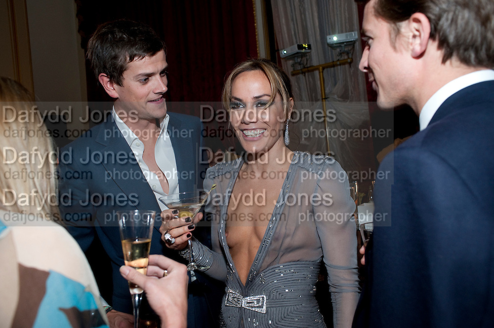 LORD ALEXANDER SPENCER-CHURCHILL; TARA PALMER-TOMPKINSON, TATLER 300TH ANNIVERSARY PARTY. Lancaster House. St. james's. London. 14 October 2009 *** Local Caption *** -DO NOT ARCHIVE-© Copyright Photograph by Dafydd Jones. 248 Clapham Rd. London SW9 0PZ. Tel 0207 820 0771. www.dafjones.com.<br /> LORD ALEXANDER SPENCER-CHURCHILL; TARA PALMER-TOMPKINSON, TATLER 300TH ANNIVERSARY PARTY. Lancaster House. St. james's. London. 14 October 2009