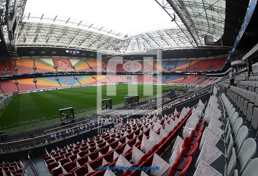Picture by John  Rainford/Focus Images Ltd +44 7506 538356.24/10/2012.General view of the interior of the Amsterdam Arena, Amsterdam.