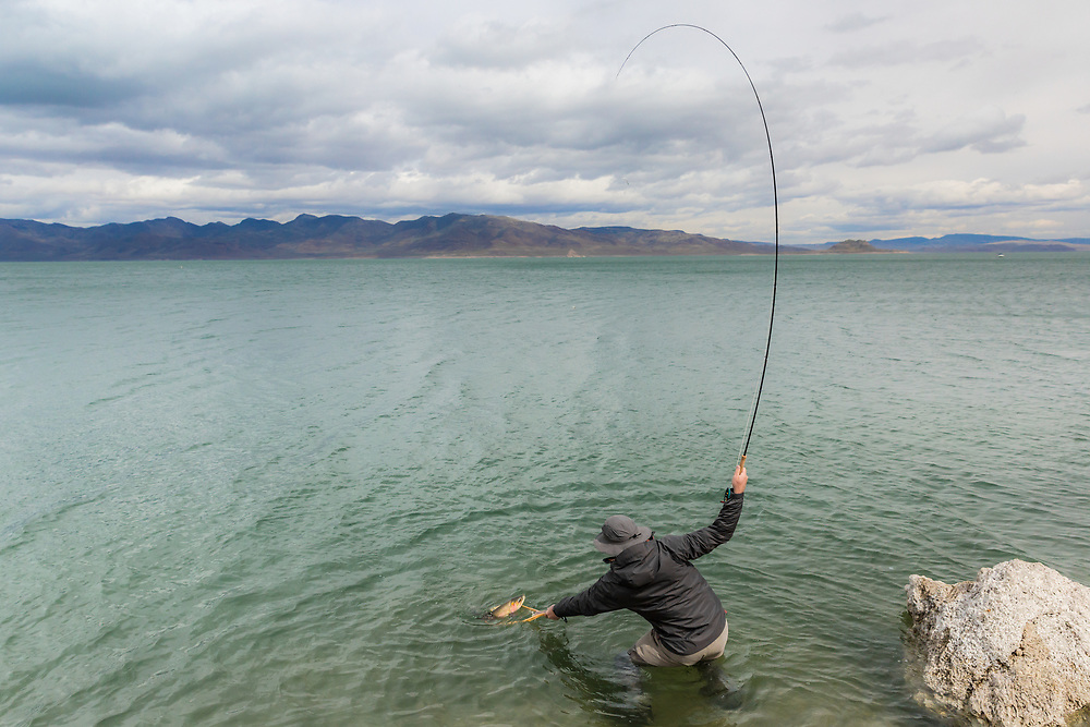 Roman Lopukh. Pyramid Lake.  Nevada.