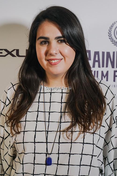 London, England, UK. 25th September 2017. Producer Marilena Parouti of TRENDY attend Raindance Film Festival Screening at Vue Leicester Square, London, UK