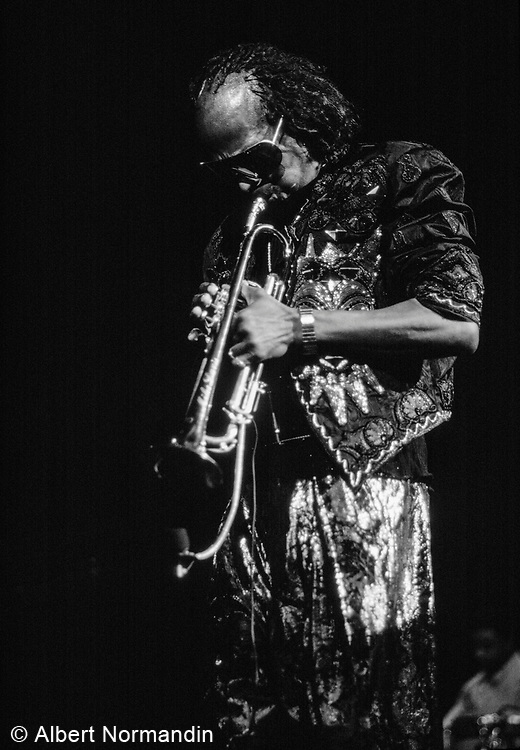 Miles Davis at Expo '86, Vancouver, British Columbia, Canada, July 3, 1986