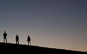 Sunset over the Negev Desert in Israel January 7, 2009...Photo by Rachel Offerdahl