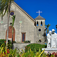 St. Francis Xavier Cathedral in Nassau, Bahamas<br />