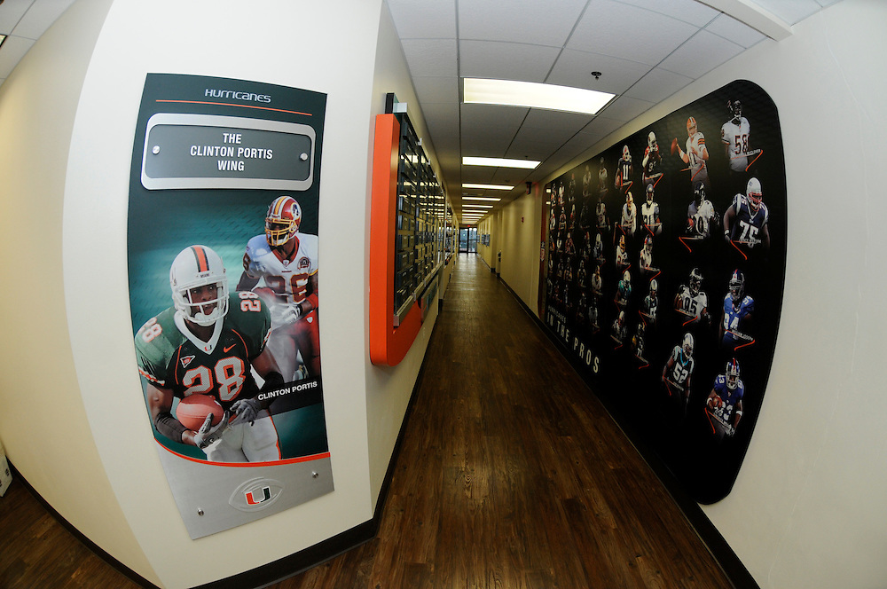 Miami Hurricanes Football Offices