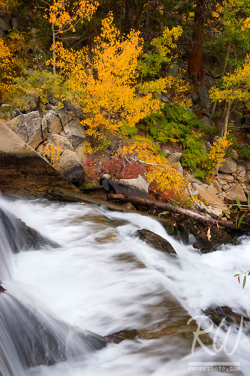 Spillway, Middle Fork Bishop Creek, Inyo National Forest, California