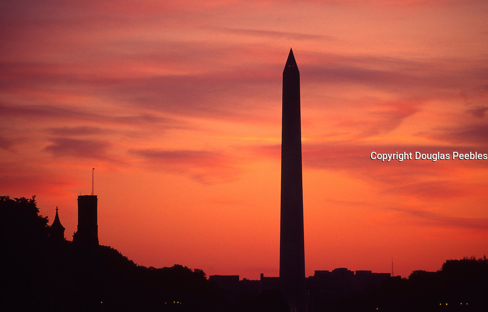 Sunset, Washington Monument, Washington, D.C.<br />