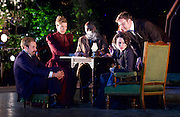 The Seagull <br /> by Anton Chekhov <br /> a new version by Torben Betts<br /> directed by Matthew Dunster<br /> at Regent's Park Open Air Theatre, London, Great Britain <br /> press photocall <br /> 22nd June 2015 <br /> <br /> Janie Dee as Irina<br /> <br /> <br /> Fraser James as Ilia<br /> <br /> Lisa Diveney as Masha <br /> <br /> Colin Hoult as Simon <br /> <br /> Lisa Palfrey as Paulina<br /> <br /> Danny Webb as Eugene<br /> <br /> <br /> <br /> <br /> Photograph by Elliott Franks <br /> Image licensed to Elliott Franks Photography Services