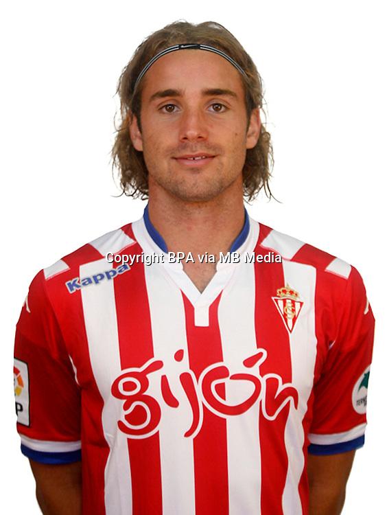 Spain - Liga BBVA 2015-2016 / <br /> ( Real Sporting de Gijon ) - <br /> Sergio Mendigutxia Iglesias