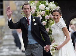 May 20, 2017 - Berkshire, England, United Kingdom - Wedding of Pippa Middleton and James Matthews at St Mark's Church, Englefield. (Credit Image: © i-Images via ZUMA Press)