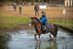 Coenegrachts Sofia, BEL, Jabbedabbedoe<br /> LRV Ponie cross - Zoersel 2018<br /> © Hippo Foto - Dirk Caremans<br /> 28/10/2018