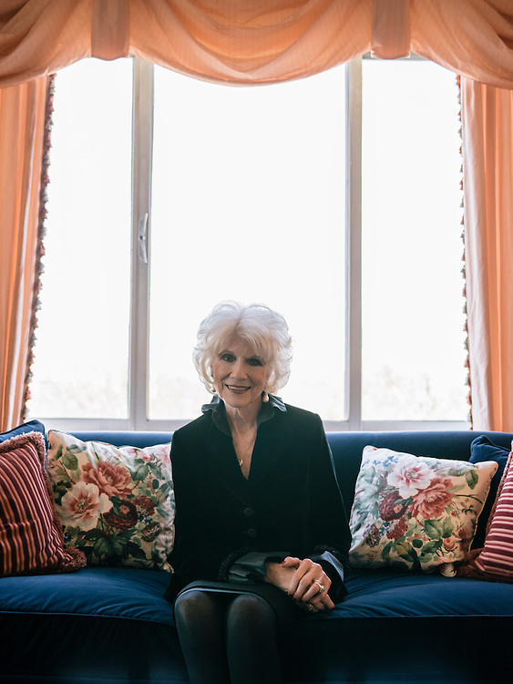 Diane Rehm, of the Diane Rehm Show, at her home in Washington, D.C.
