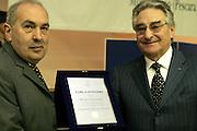 Montesilvano, 19 marzo 2005<br /> XL Assemblea Generale Montesilvano 2005<br /> Foto Ciamillo<br /> fausto maifredi, renato tamagnini