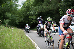 Rozanne Slik (NED) of Liv-Plantur Cycling Team digs deep during the Aviva Women's Tour 2016 - Stage 3. A 109.6 km road race from Ashbourne to Chesterfield, UK on June 17th 2016.